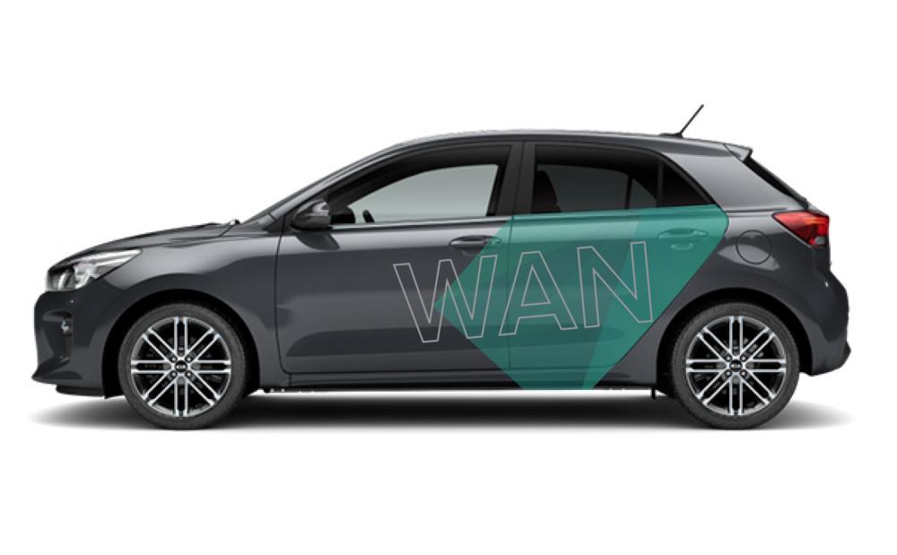 We mocht een design maken voor de bestickering van de auto's van Woning Advies Nederland. Ze lijken nu een stuk sneller. Vindt je niet?