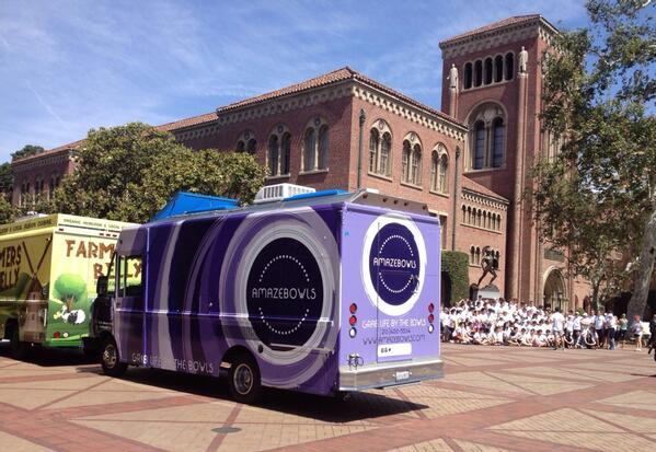 Our Purple Truck's first debut. Birth Year: 2013. Birth Place: USC.