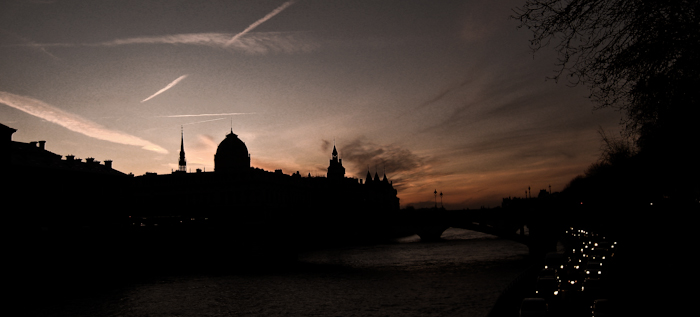The Seine at Dusk, 2010.