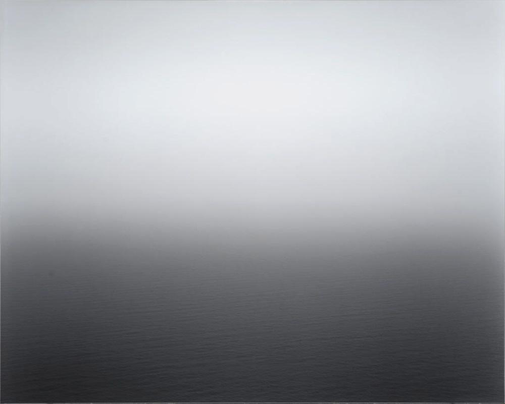 Hiroshi Sugimoto |Seascape: Aegean Sea, Pillon,1990.    via c4gallery