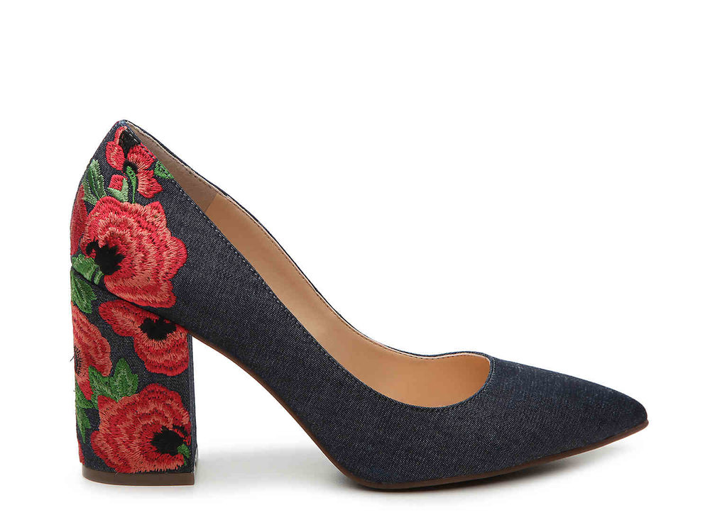Jessica Simpson Lannah Pumps. Courtesy of DSW.
