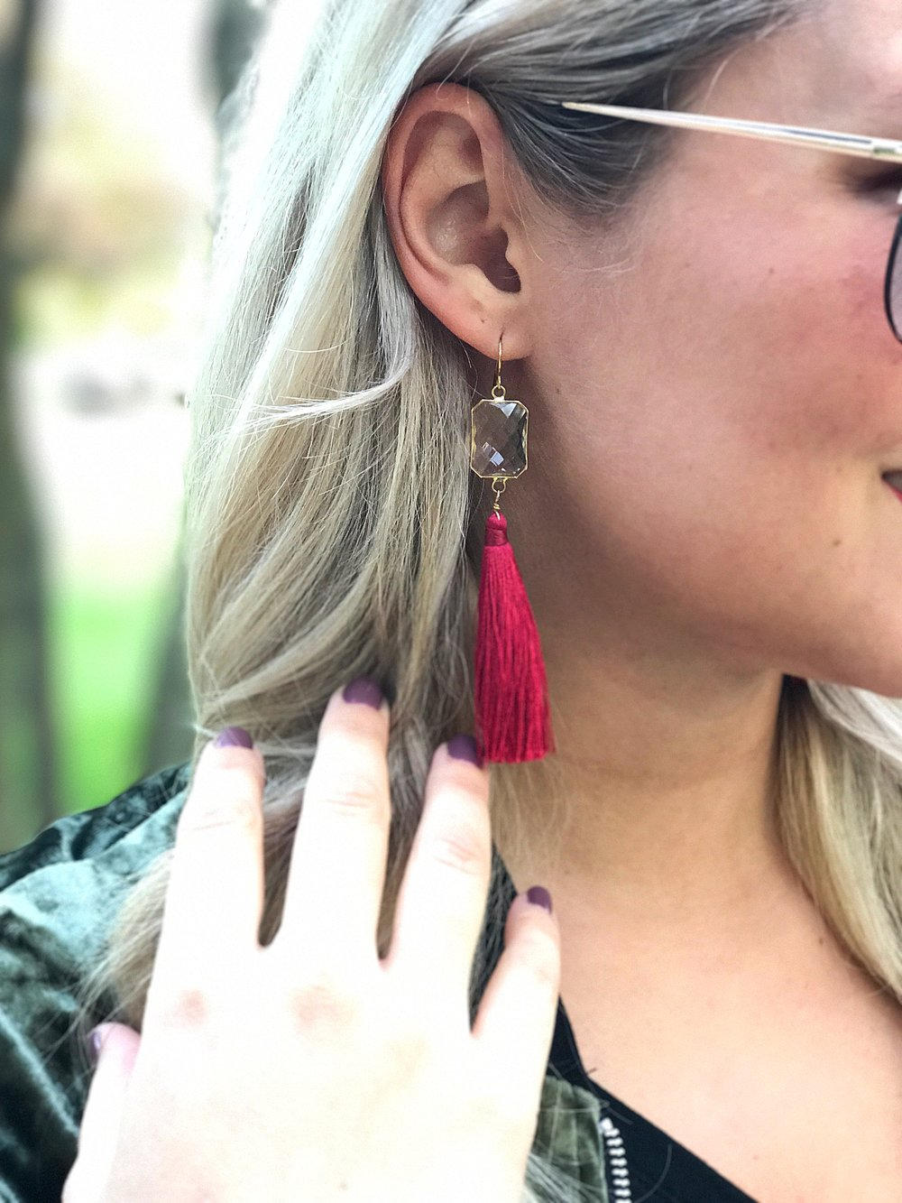 Velvet - Pink With Diamonds Blog