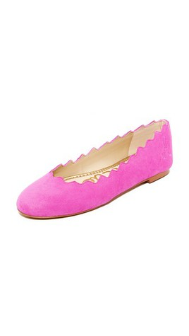 How amazing is this color of these Sam Edelman flats?!