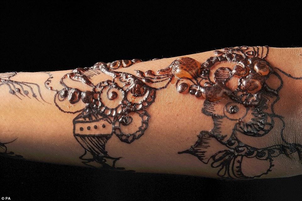 Imitation Henna Warning Sarahenna