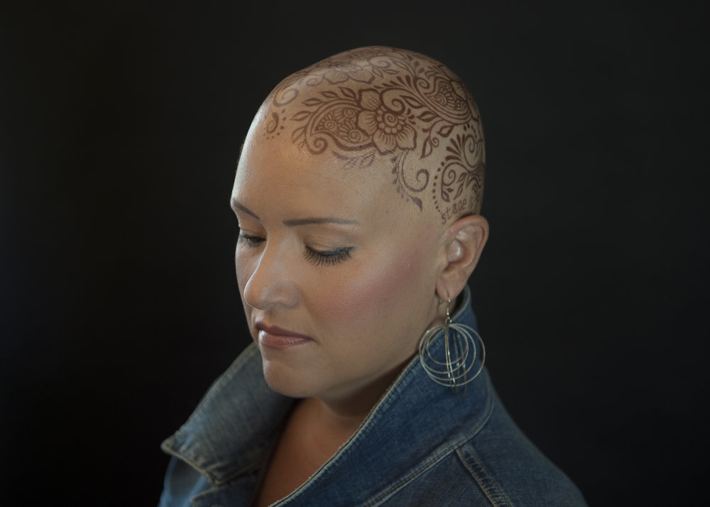 Henna crowns for hair loss