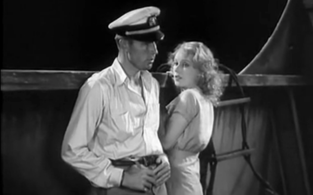 Ann Darrow and Jack Driscoll aboard Venture-10