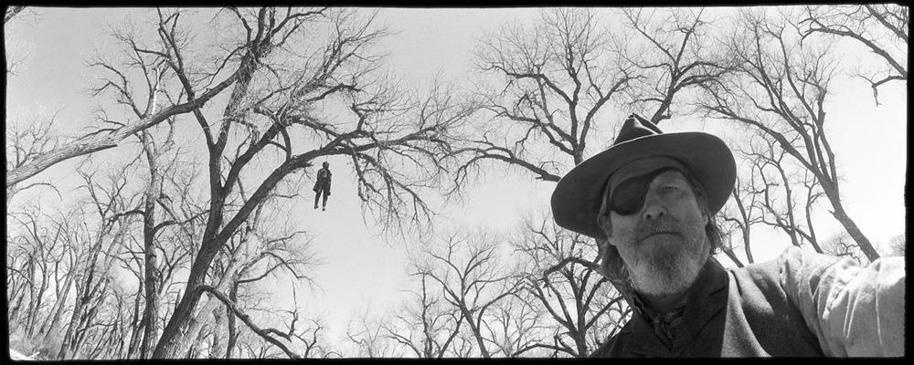 Jeff Bridges Wide-Lux self portrait during filming of  True Grit  (2010).