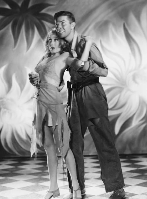 Fay Wray and Bruce Cabot, promotional still of  King Kong.