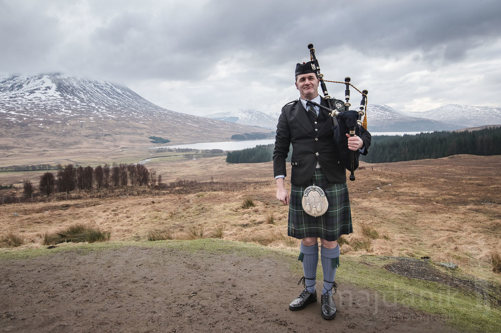 Piper in Highlands