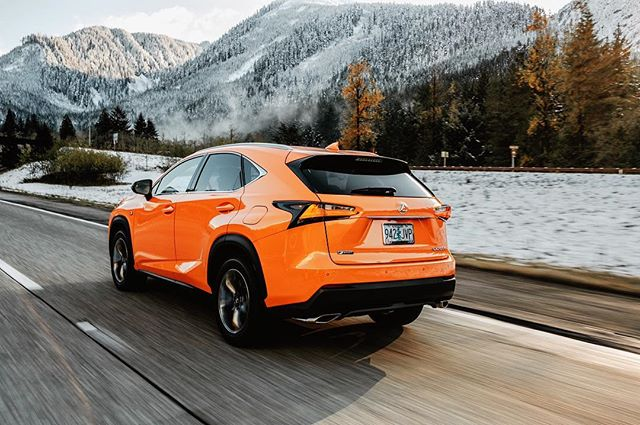 """To the summit!  The views keep getting better. And that orange... hehmm.. sorry, """"Molten Pearl"""". Whatever you call it, it pops!!! . . . Would you be bold enough to go Molten Pearl??? . . . @lexususa @justinclarkphotography @captusphotography . . #ad #lexusnx #lexususa #luxurylifestyle #seattlemet #seattle #branded #branding #brandphotography #brandphotographer #caraddict #seattlecreatives #filmpalette #filming #drivingmatters #naturelovers #driver #grandtour #pnw #upperleftusa #thegreatpnw #explorepnw #exploremore #seattlemade #lexusadventure #lexusad #carpromo #carad #promovideo #lexus"""