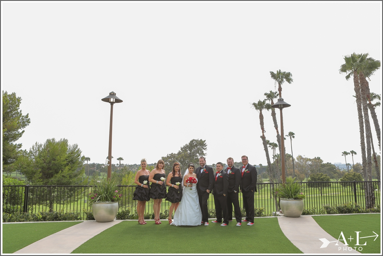 Newport Marriott Wedding, Bridal Party