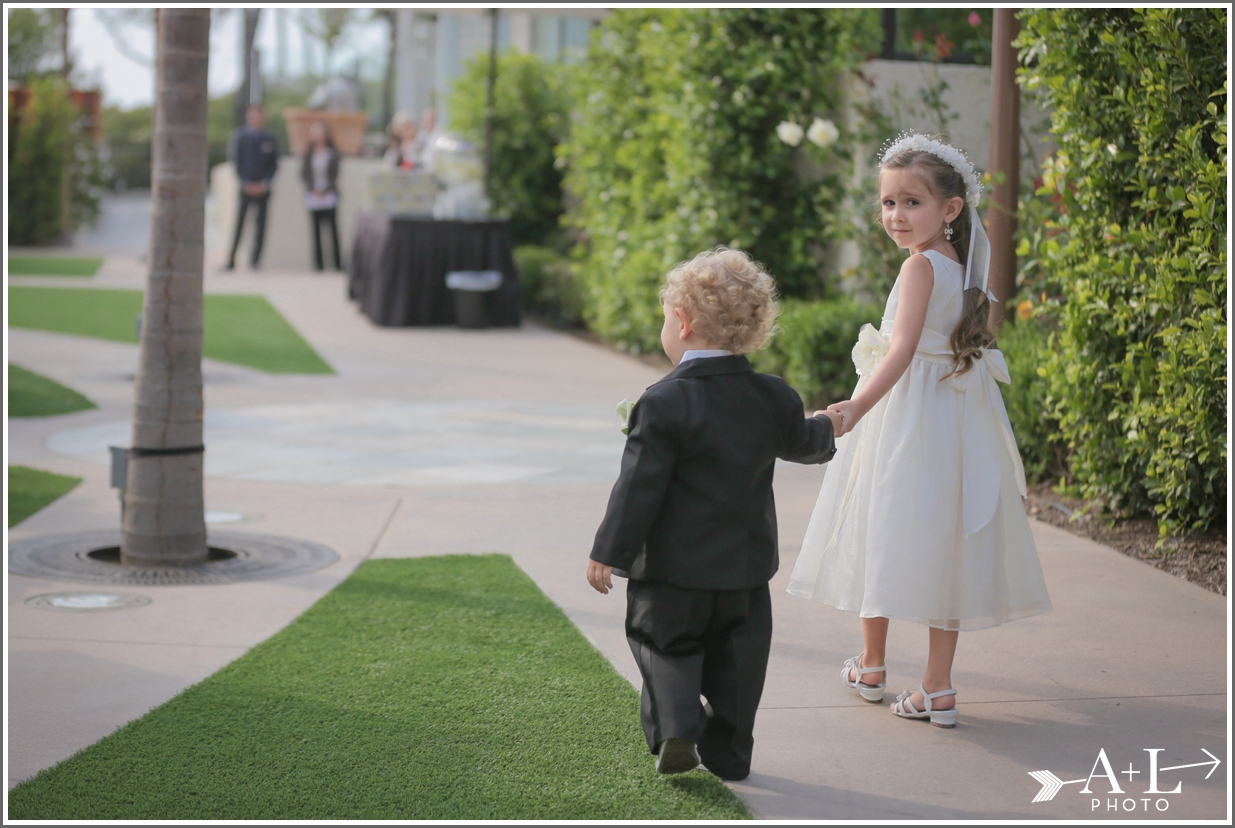 Newport Marriott Wedding, flower girl, ring bearer