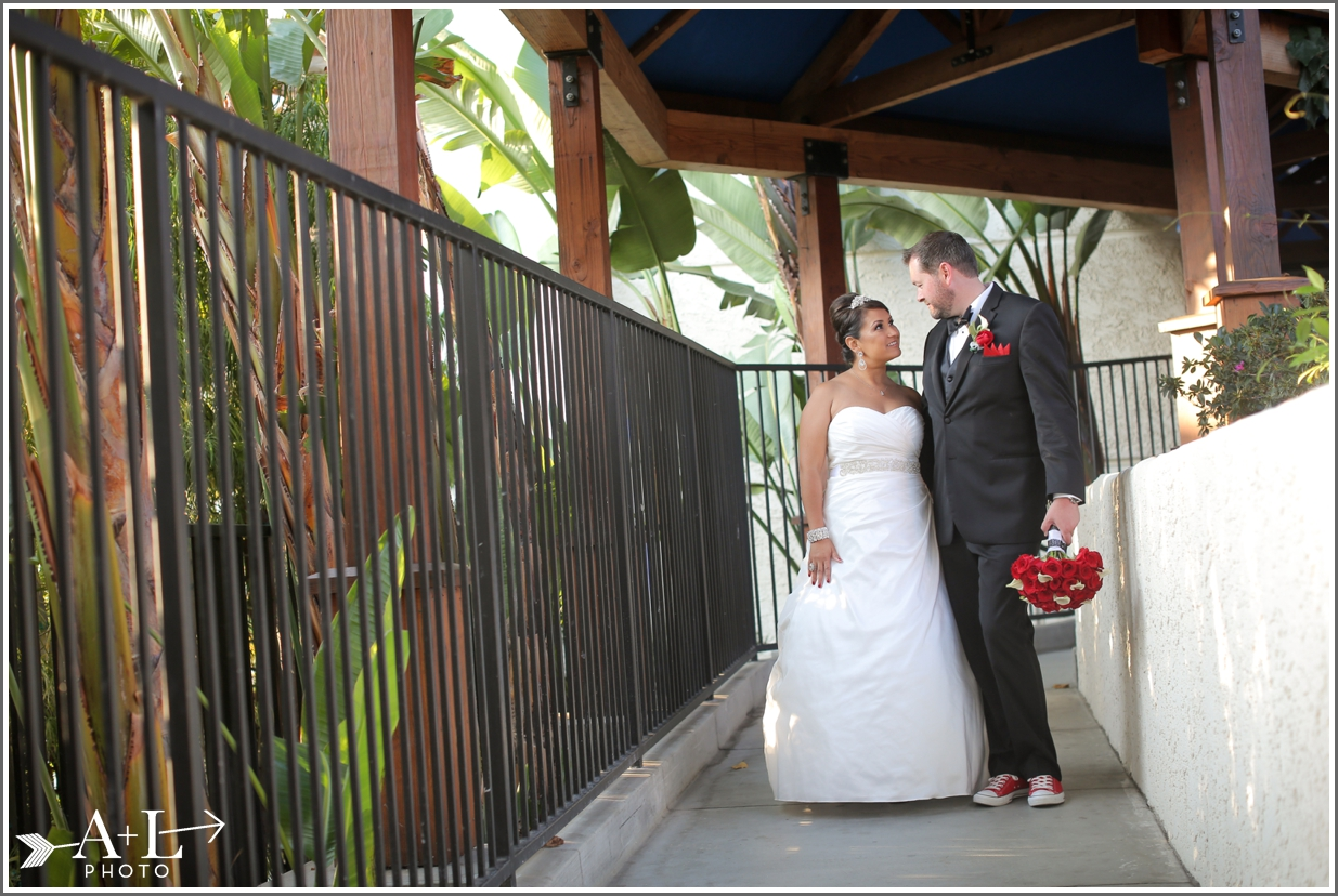 Newport Marriott Wedding, bride and groom
