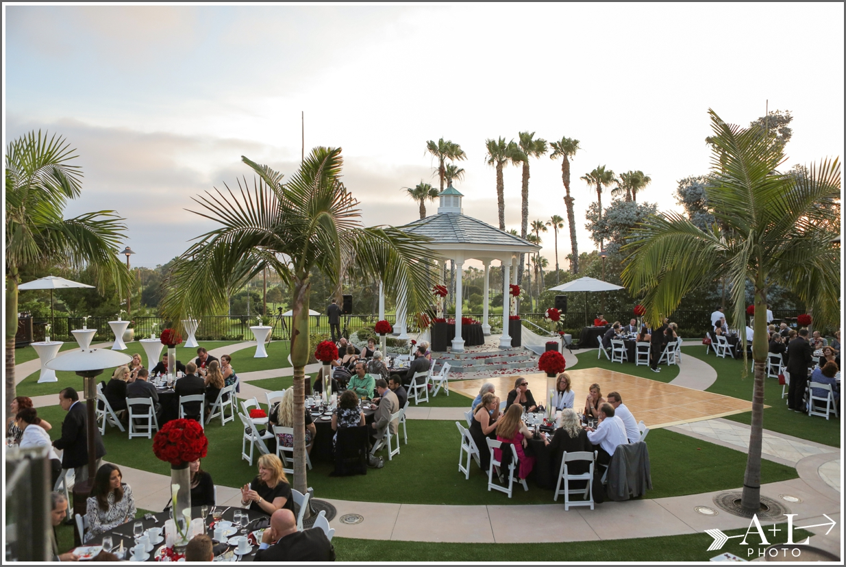 Newport Marriott Wedding, reception site