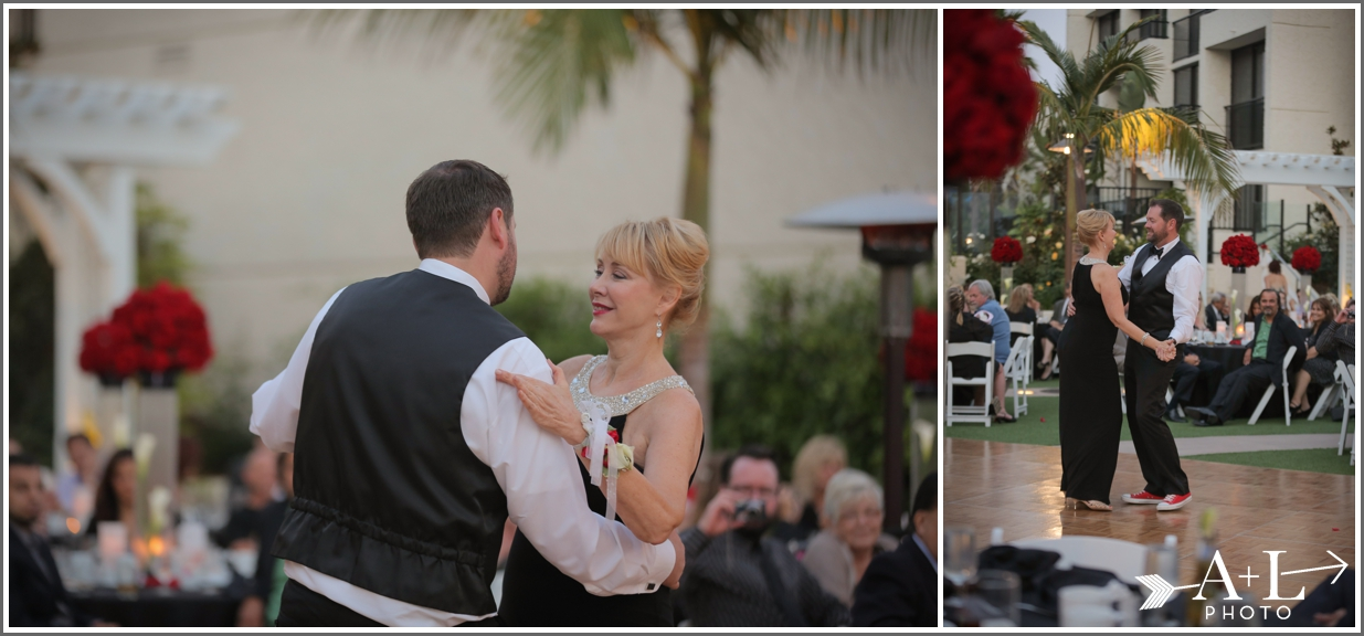 Newport Marriott Wedding, Mother Son Dance