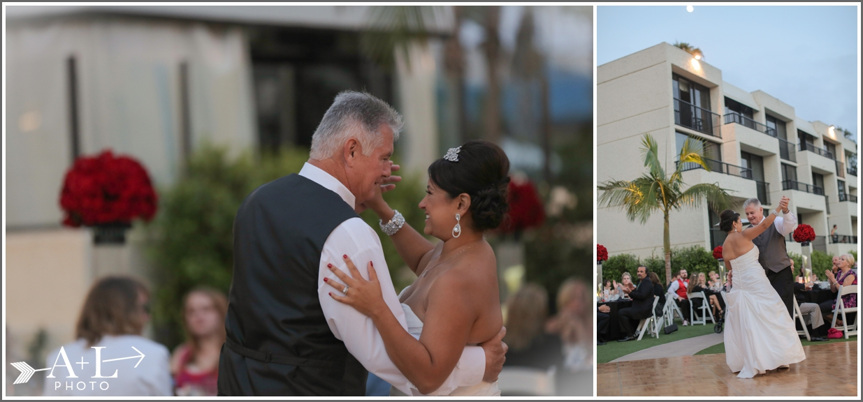Newport Marriott Wedding, Father Daughter Dance