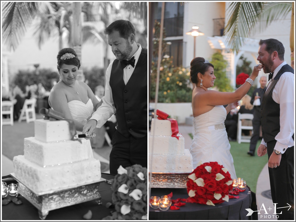 Newport Marriott Wedding, Cake Cutting