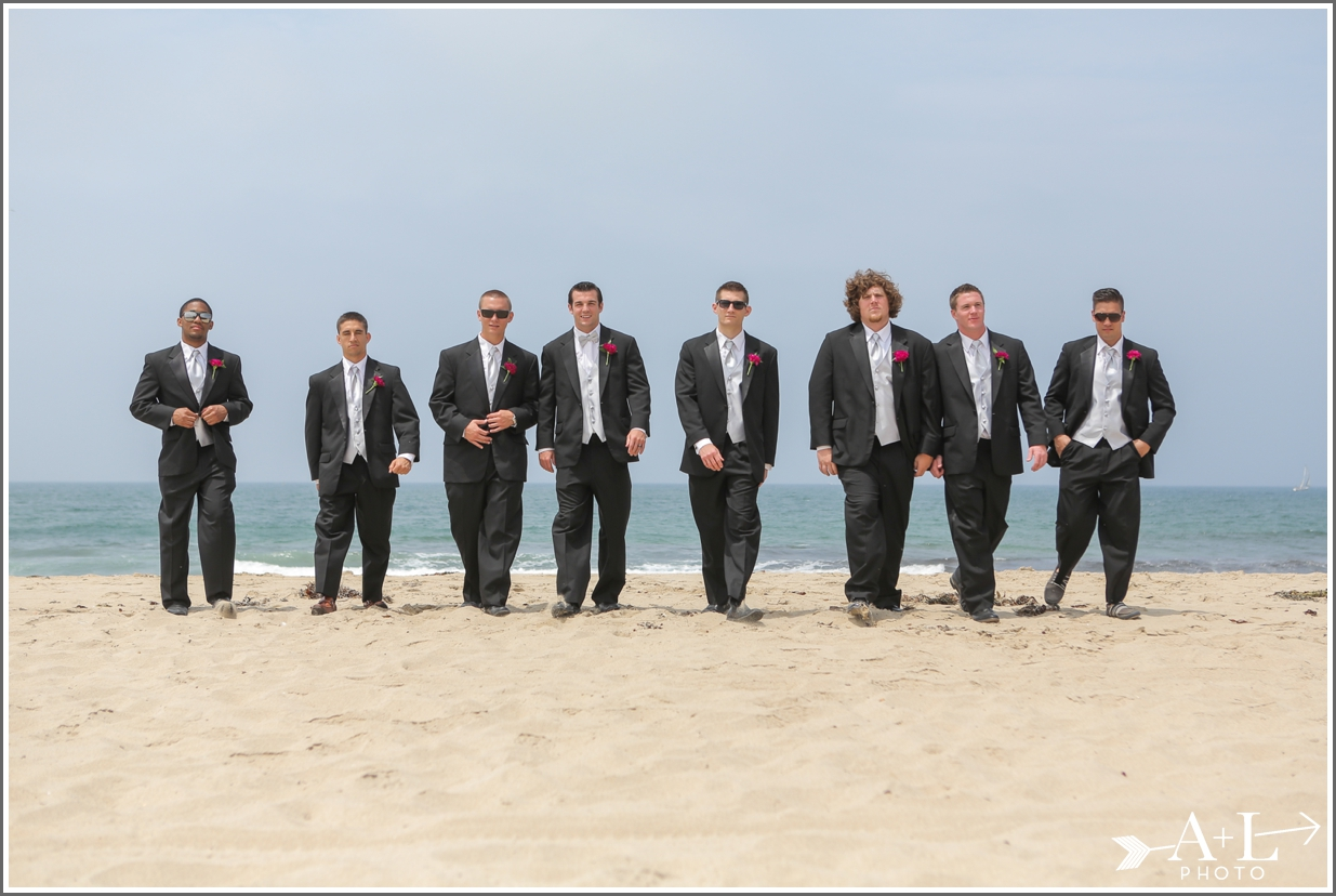 Groomsmen Redondo Beach Wedding