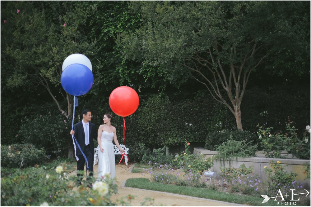 Wedding with Balloons