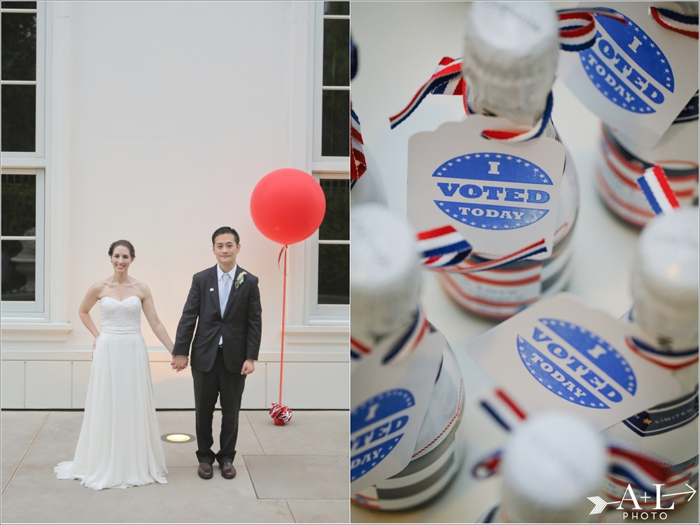 Election Themed Wedding