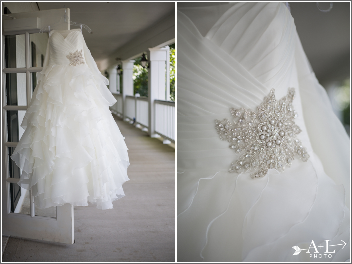 Country Club Wedding, wedding dress