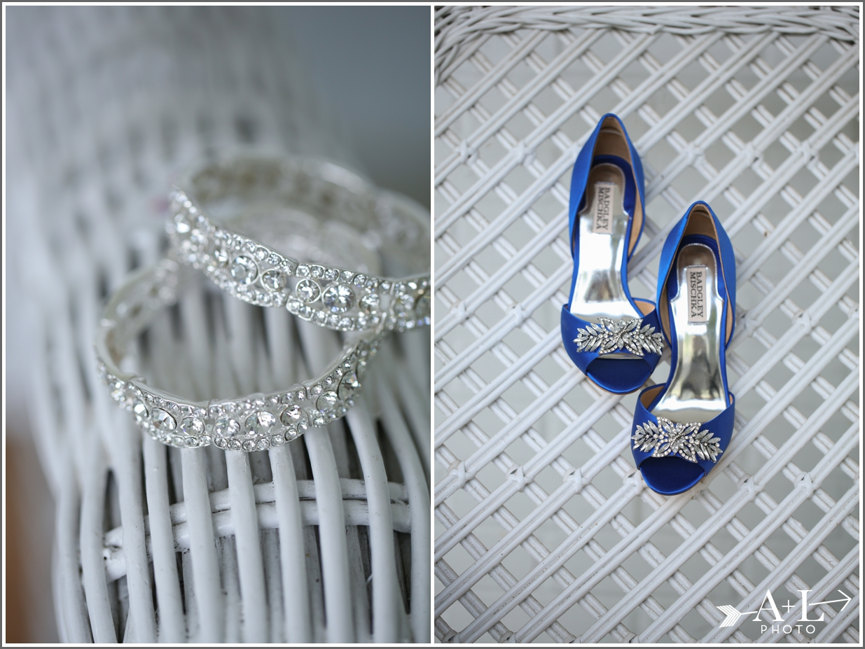 Country Club Wedding, Bride shoes