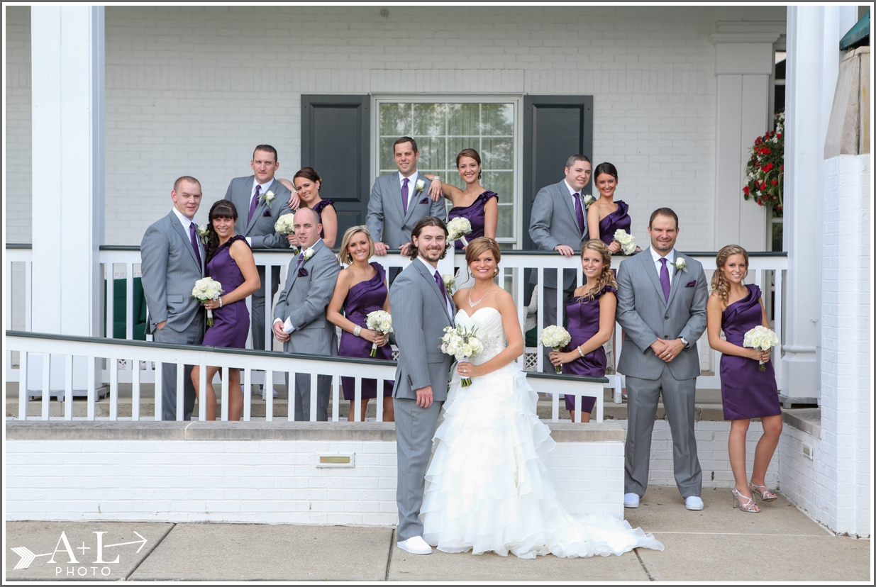 Country Club Wedding, wedding party