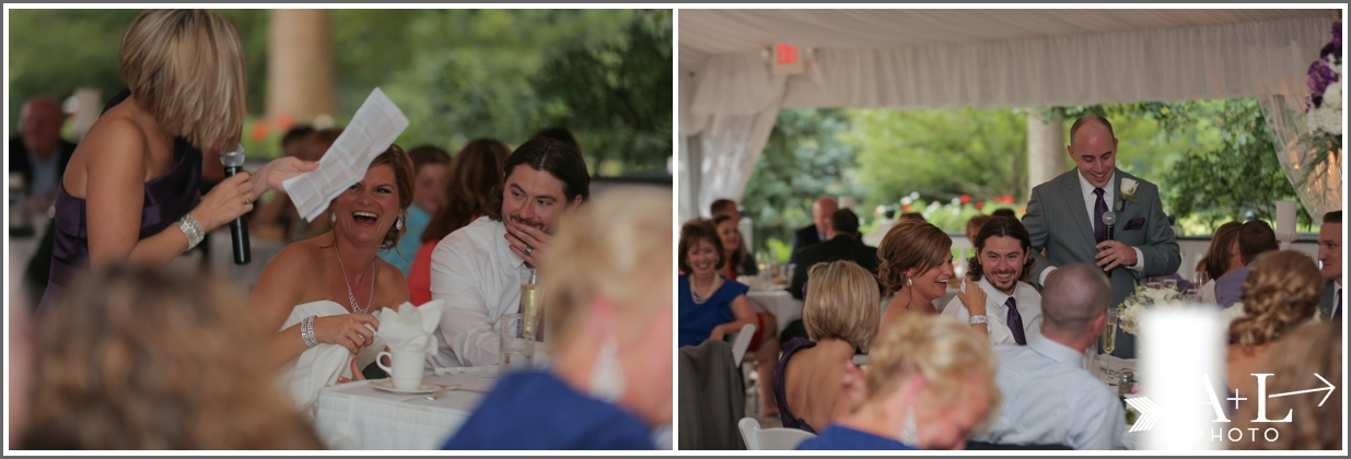 Country Club Wedding, Speeches