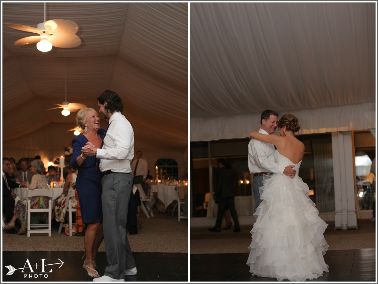 Country Club Wedding, Dancing