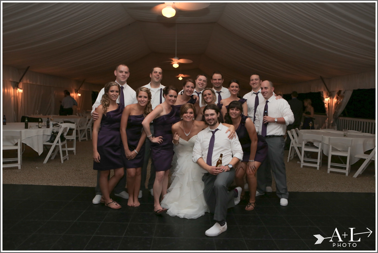 Country Club Wedding, Bridal Party