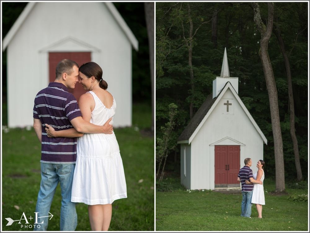 Rockmill Brewery Engagement, Chapel Engagement