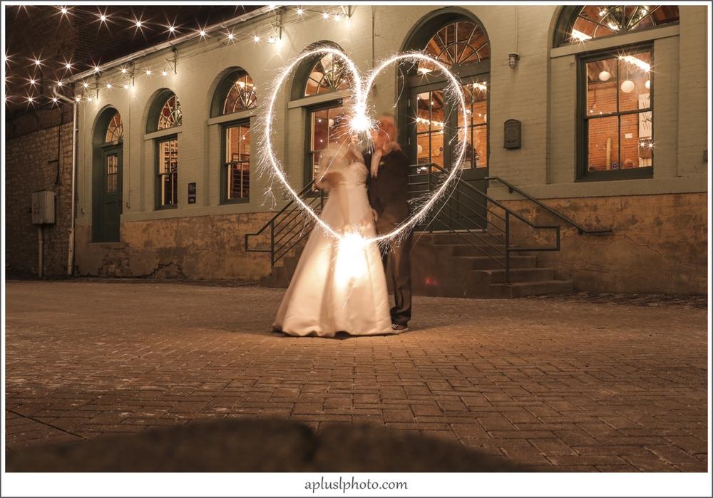 Sparkler Wedding