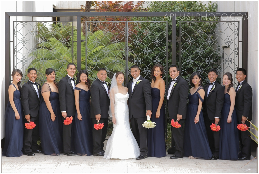 Southern California Wedding Photographers A Plus L Photo