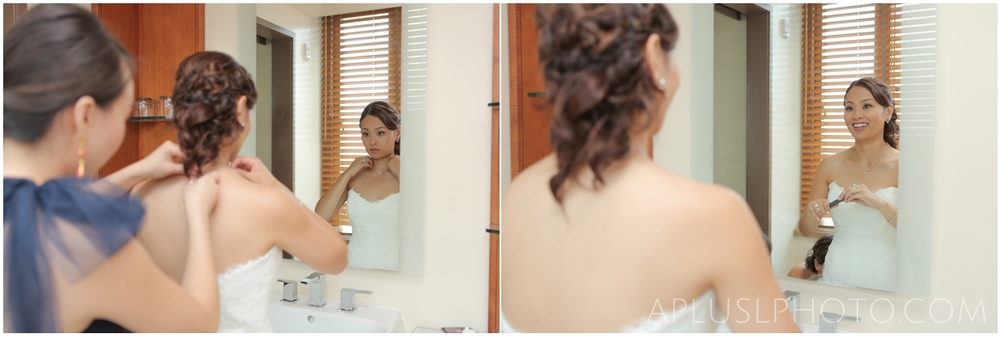 Bride Getting Ready - A Plus L Photo