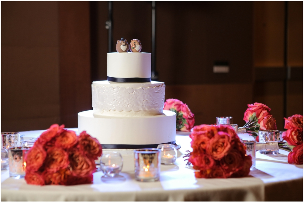 Wedding Cake White - Southern California Wedding Photographer