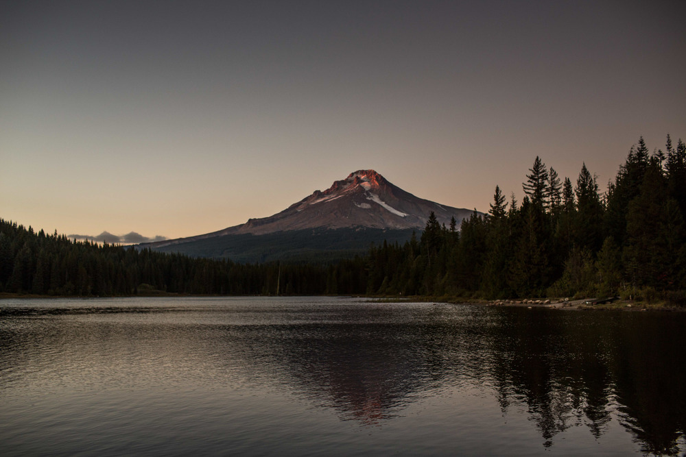 Trillium Lake view of Mt. Hood