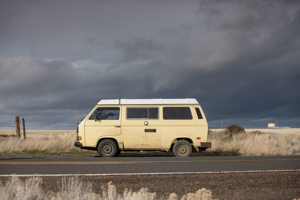 Yellow Westfalia Camper: #AdventuresofAPlusL