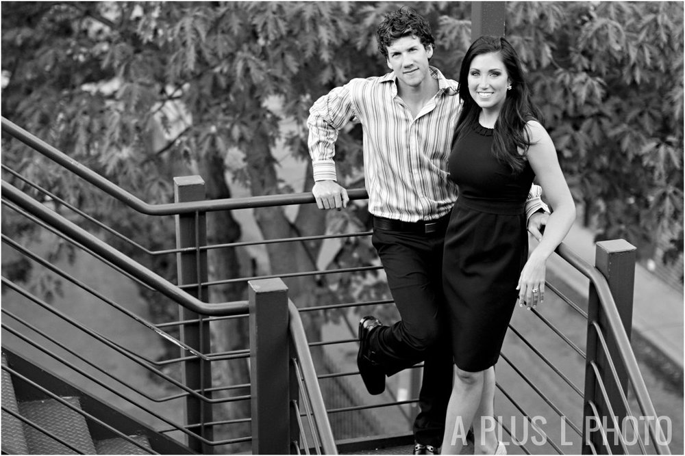 Short North Engagement Session : A Plus L Photo
