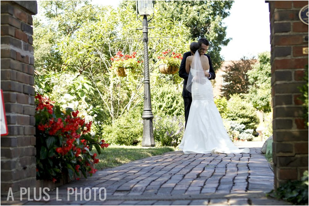First Look before Cosi Wedding | A Plus L Photo