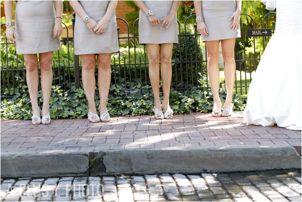 Gray Bridesmaid Dresses | A Plus L Photo