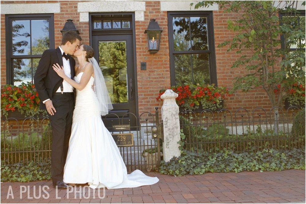 German Village Wedding | A Plus L Photo