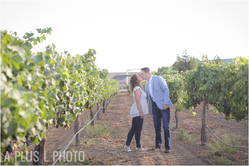 Temecula Winery Engagement Session | A Plus L Photo