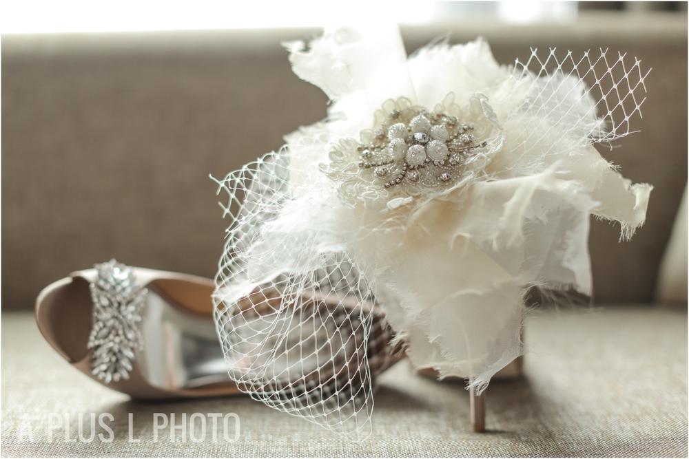 Wedding Details | Birdcage Veil | A Plus L Photo | Portland, OR Wedding Photographers