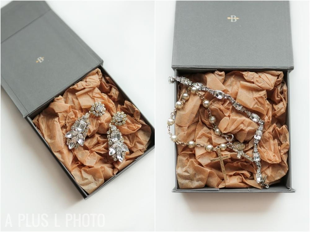 Wedding Details | BHLDN Jewelry | A Plus L Photo | Portland, OR Wedding Photographers