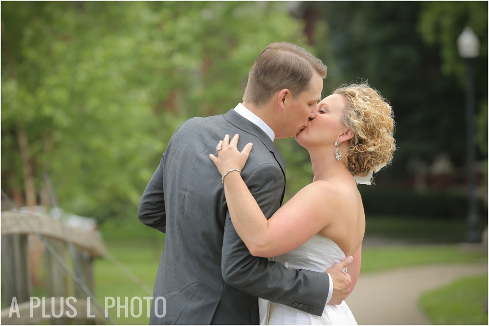 Columbus Ohio Wedding | Bride and Groom | A Plus L Photo | Portland, OR Wedding Photographers