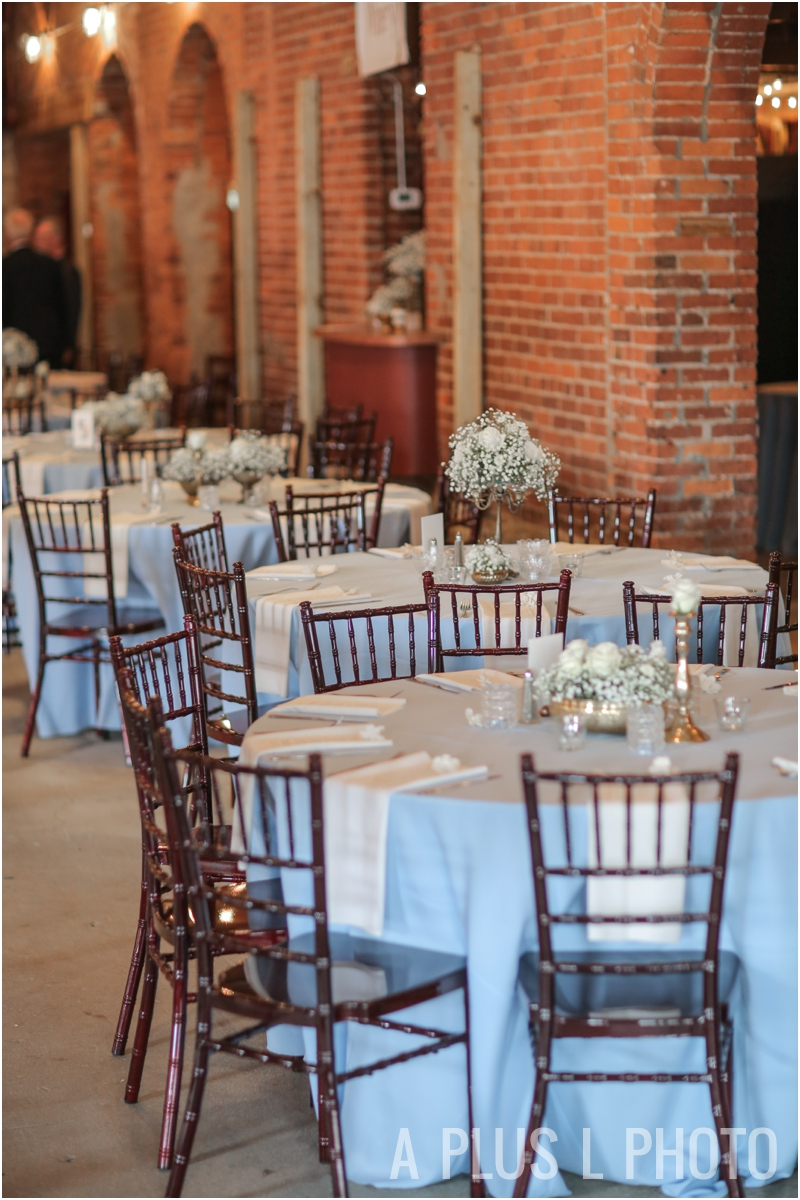 Gold, Blue and White Wedding Details | Rustic Wedding Details | Via Vecchia Winery Wedding | A Plus L Photo | Portland, OR Wedding Photographers