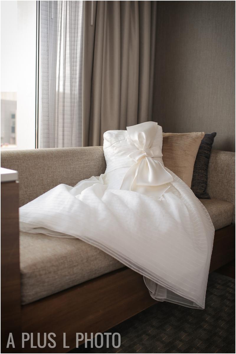 Short Wedding Dress | Rustic Wedding Details | Via Vecchia Winery Wedding | A Plus L Photo | Portland, OR Wedding Photographers
