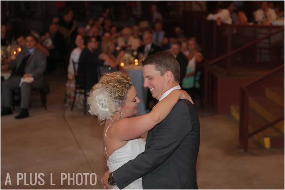 Weddding First Dance | Via Vecchia Winery Wedding | A Plus L Photo | Portland, OR Wedding Photographers