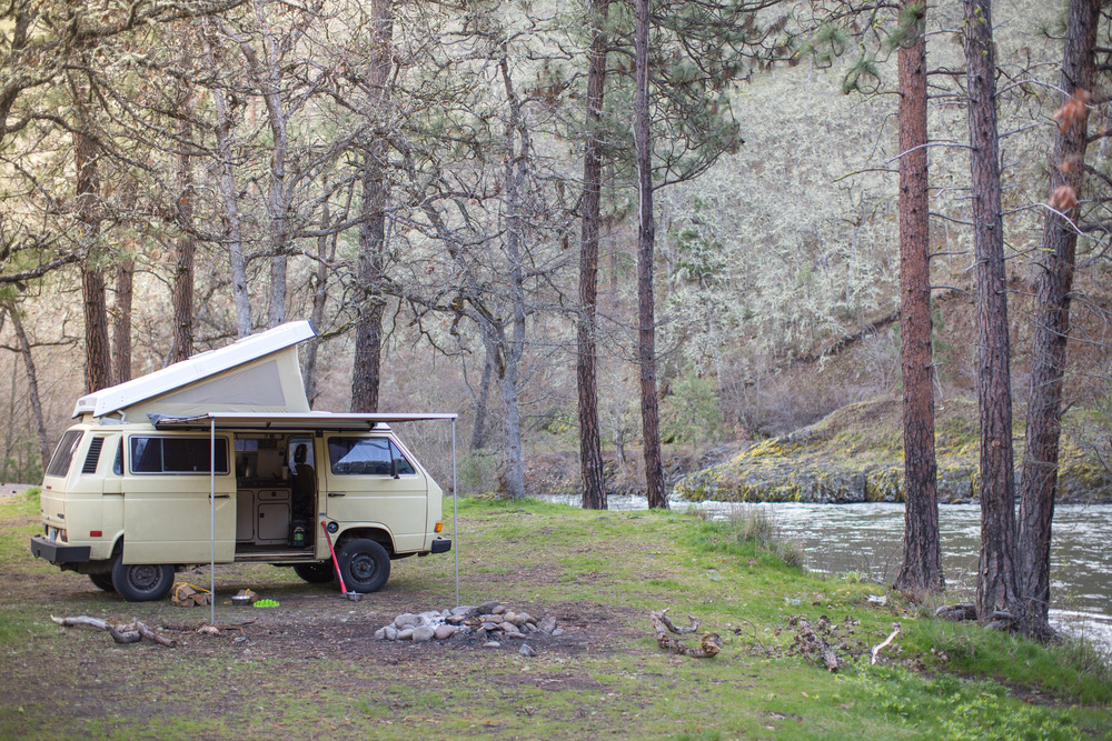 Klickitat River Camping | A Plus L Photo