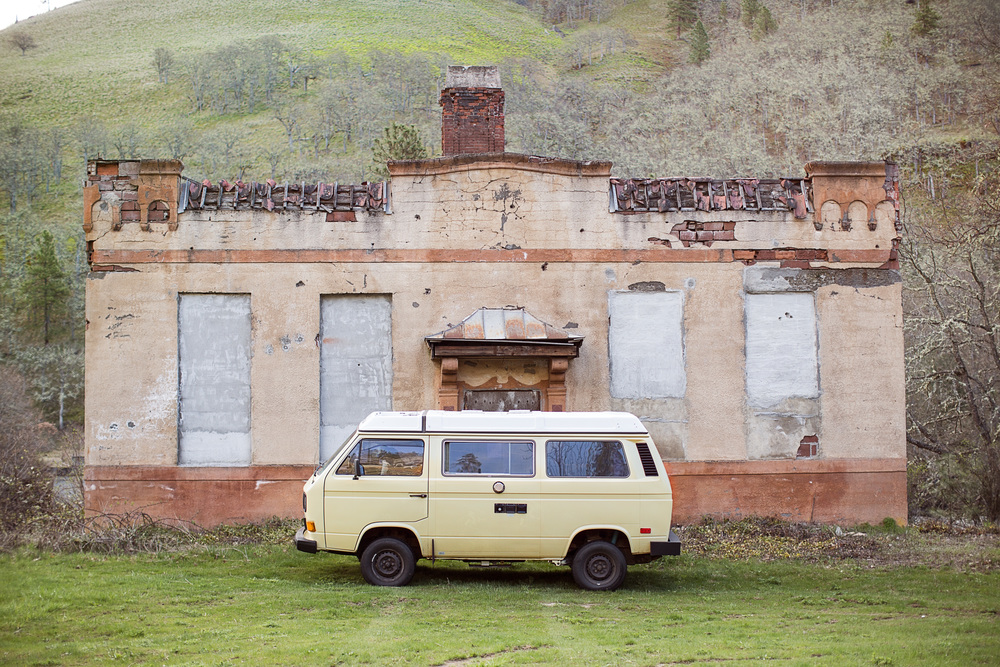Abandoned Mineral Water Plant in Klickitat | A Plus L Photo